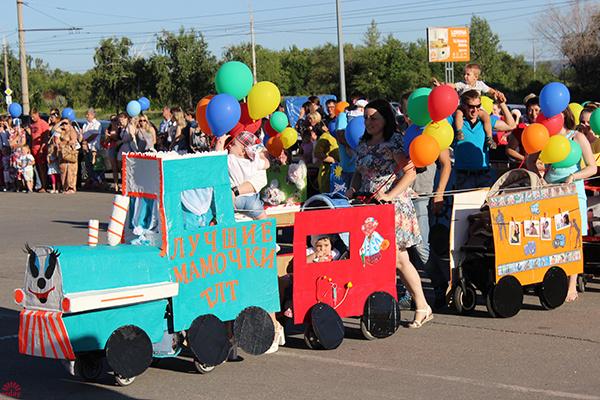 Парад колясок 2016 в Тольятти