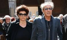 Челентано с женой отмечает золотую свадьбу