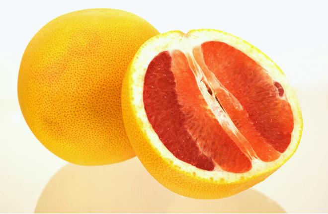 Грейпфрут на ночь