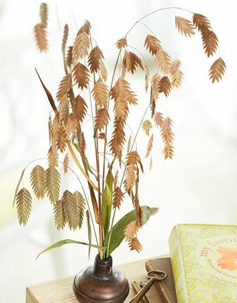 осенний декор, своими руками, декор своими руками, творчество, детское творчество, декор из листьев, идеи декора