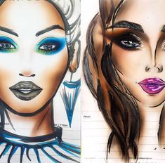 Удиви его: два необычных варианта макияжа на 14 февраля