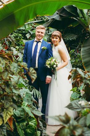 Алексей и Ирина Логачевы, свадьба