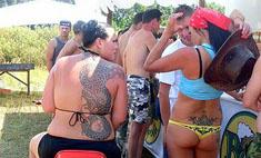 Необычные татуировки девушек Белгорода