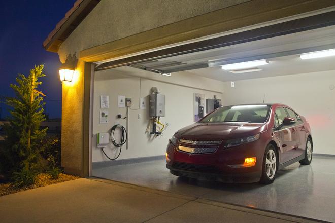 в какой цвет покрасить стены в гараже