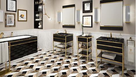 Новая коллекция мебели для ванной Academy от Oasis   галерея [1] фото [7]