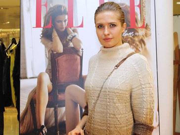 Антонина Шаповалова на шопинг-дне Elle в бутике DVF