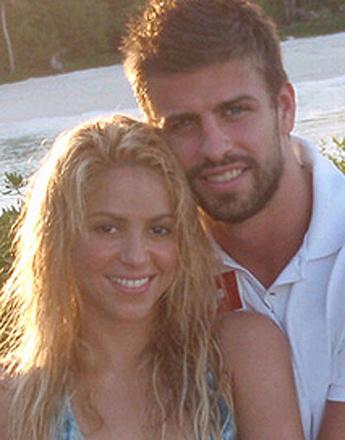 Первая совместная фотография Шакиры (Shakira) и Жерара Пике (Gerard Pique)