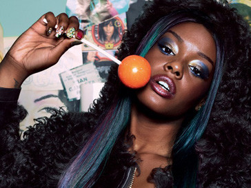Азалия Бэнкс (Azealia Banks) для Dazed and Confused