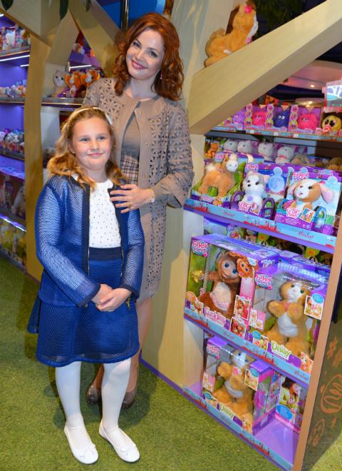 Екатерина Вуличенко с дочкой Соней: фото