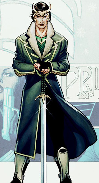 Локи из комикса «Локи: Агент Асгарда»