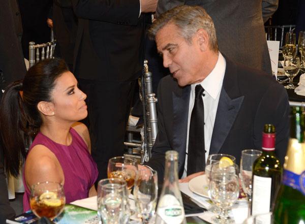 Джордж Клуни и Ева Лонгория