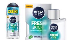 Всегда естественно свеж: идеальные средства Nivea MEN Fresh Kick для бодрого начала дня