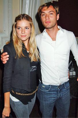джуд лоу и его жена фото