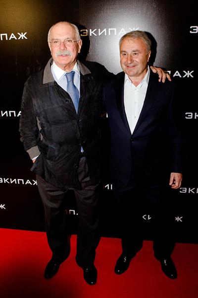 Никита Михалков и Леонид Верещагин