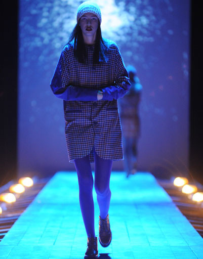 Показ коллекции Maroussia Zaitseva осень-зима 2013/14 Mercedes-Benz Fashion Week Russia