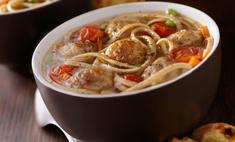 Суп «Фрикадельки по-русски»