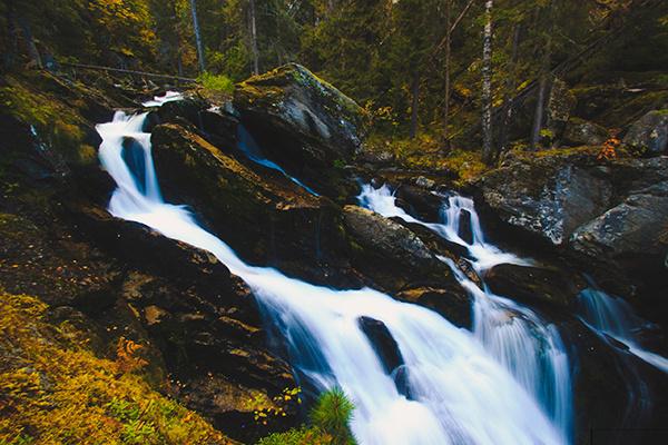 Жигаланские водопады, фото