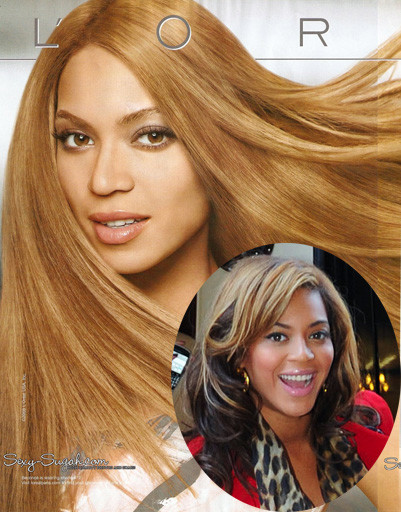 Бейонсе (Beyonce) - жертва фотошопа