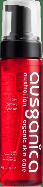 Ausganica Очищающая пенка «Роза»