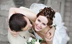 Крупный свадебный флеш-моб в Москве