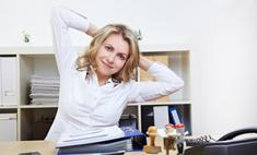 Сидячая работа – враг стройной фигуры. Упражнения для офиса