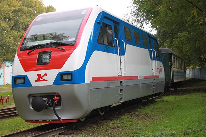1 мая, детская железная дорога Ростов