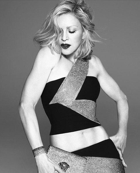 Мадонна в рекламной кампании Versace весна-лето 2015