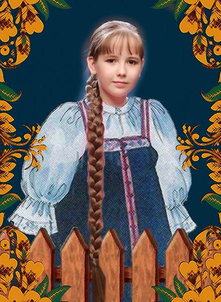 Валерия Пестова, «Уральская краса – русская коса», фото