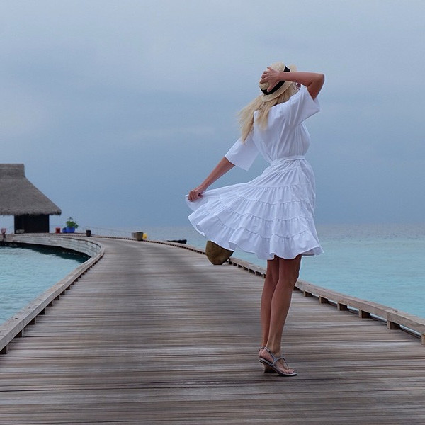 Яна Рудковская в платье Dior