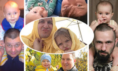 Точь-в-точь: отцы и дети, которых не отличить