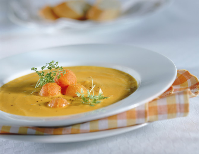 протертый овощной суп рецепт