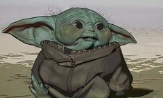 Как мог бы выглядеть Малыш Йода в «Мандалорце»: Disney+ показал эскизы
