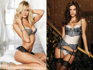Праздничная коллекция нижнего белья Victoria's Secret