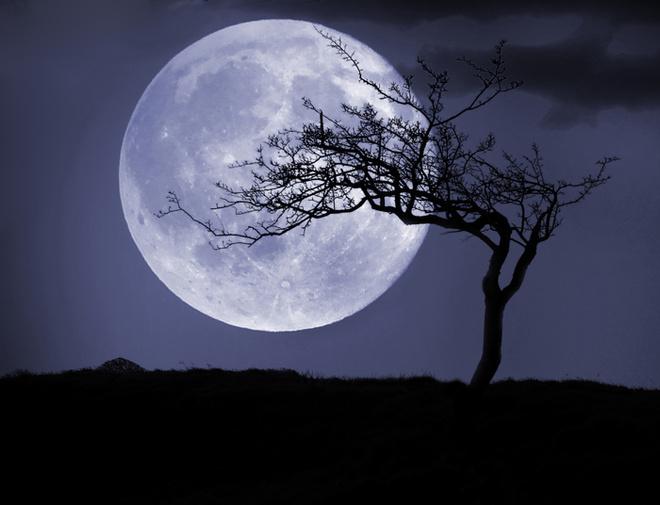 Суперлуние, лунное затмение 2015