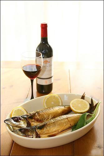 Вино к рыбе