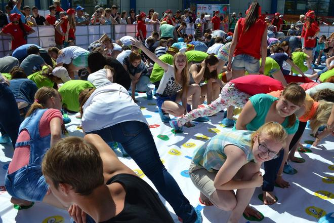 Книга рекордов России Твистер День Молодежи Тюмень