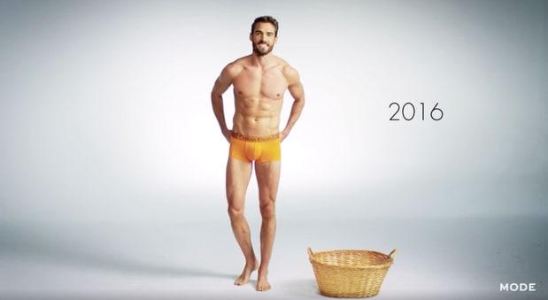 Видео: как изменилось мужское нижнее белье за 100 лет