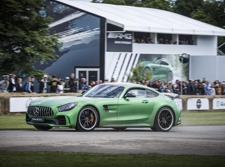 Новый Mercedes-AMG GT R – родом из Нюрбургринга