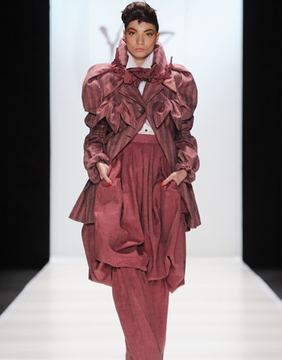 Mercedes-Benz Fashion Week Russia: YeZ by Yegor Zaitsev, осень-зима 2012/13