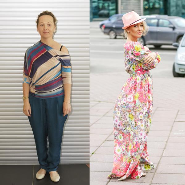 До и после: Светлана Снопкова