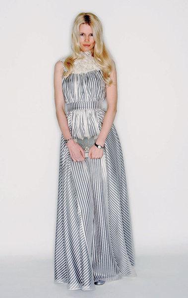 Клаудиа Шиффер в платье Erdem, 2006 год