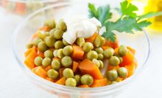 Вкусные салаты с зеленым горошком