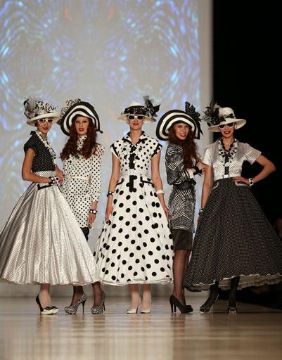 Коллекция Slava Zaitsev осень-зима 2013/14 на Mercedes-Benz Fashion Week Russia