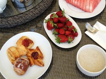 Во время отпуска Лера Кудрявцева старается питаться правильно.