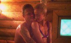 Бузова отметила День семьи, любви и верности в бане