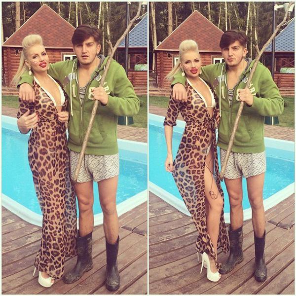 леопардовое платье, Алена Вражевская