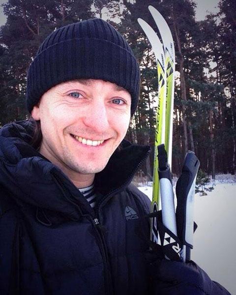 Сергей Безруков, лыжи