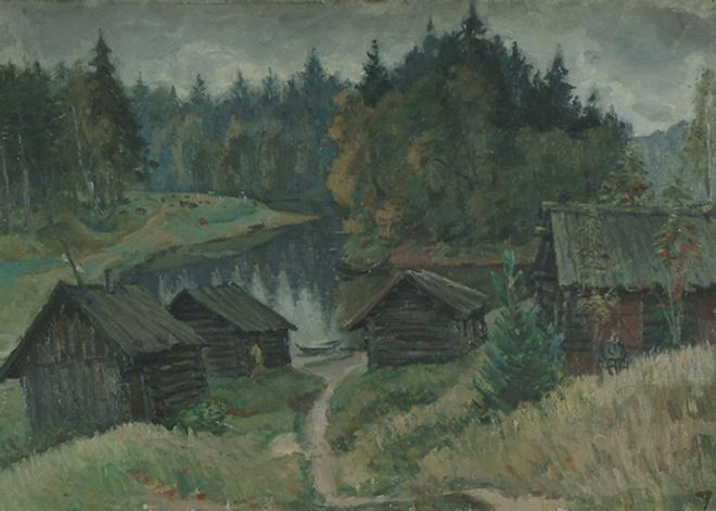 Пейзаж Юрия Савинова