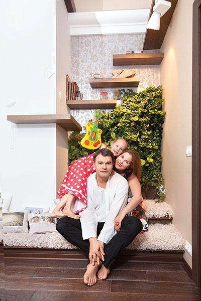 Евгений Дятлов с дочерью, фото