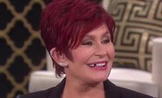 У Шэрон Осборн выпал зуб в прямом эфире